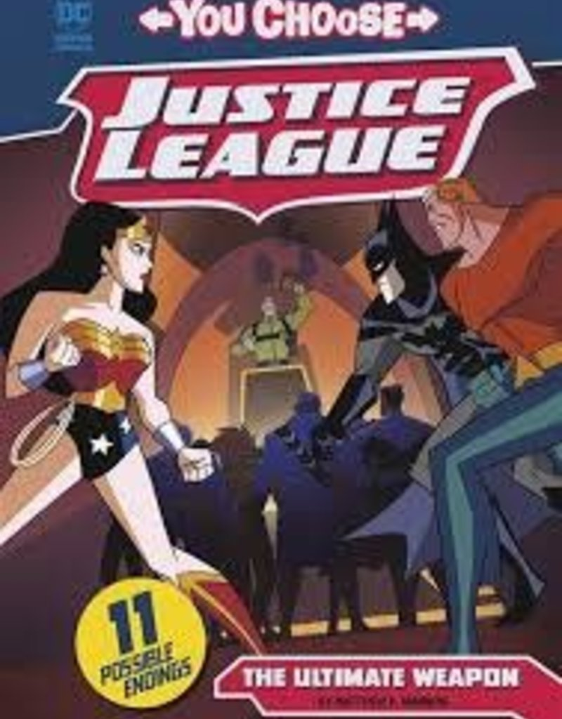 CAPSTONE PRESS JUSTICE LEAGUE YOU CHOOSE YR TP ULTIMATE WEAPON