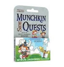 STEVE JACKSON GAMES MUNCHKIN SIDE QUESTS EXP