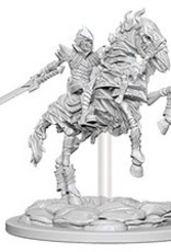 WIZKIDS DEEP CUTS UNPAINTED MINIS  SKELETON KNIGHT ON HORSE
