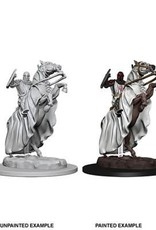 WIZKIDS D&D NOLZUR'S MARVELOUS UNPAINTED MINIS KNIGHT ON HORSE