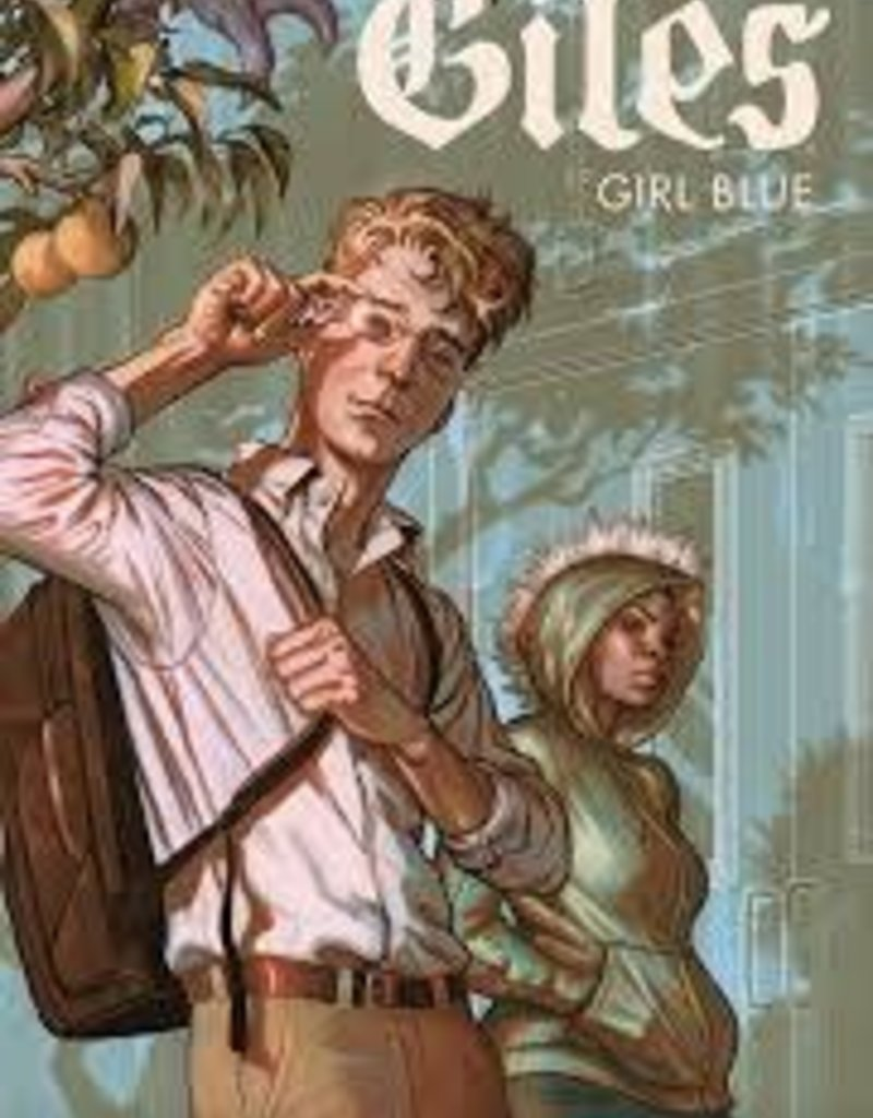 DARK HORSE COMICS BTVS SEASON 11 GILES GIRL BLUE TP VOL 01