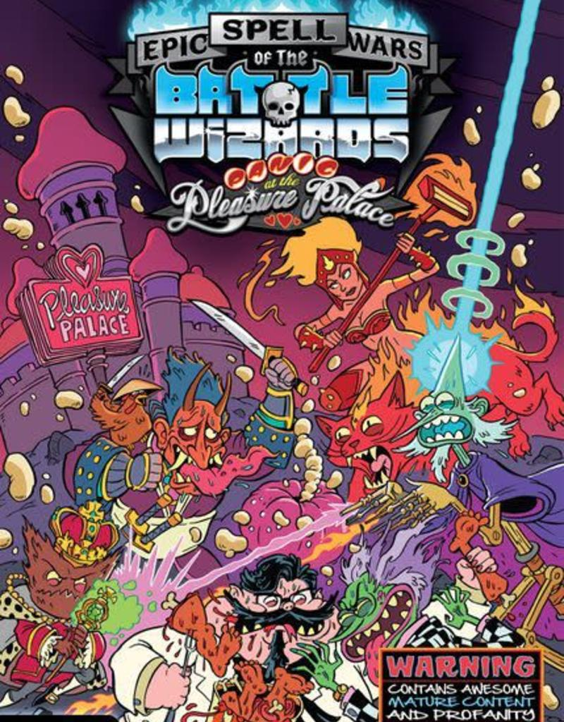 CRYPTOZOIC ENTERTAINMENT EPIC SPELL WARS OF THE BATTLE WIZARDS: PANIC AT THE PLEASURE PALACE
