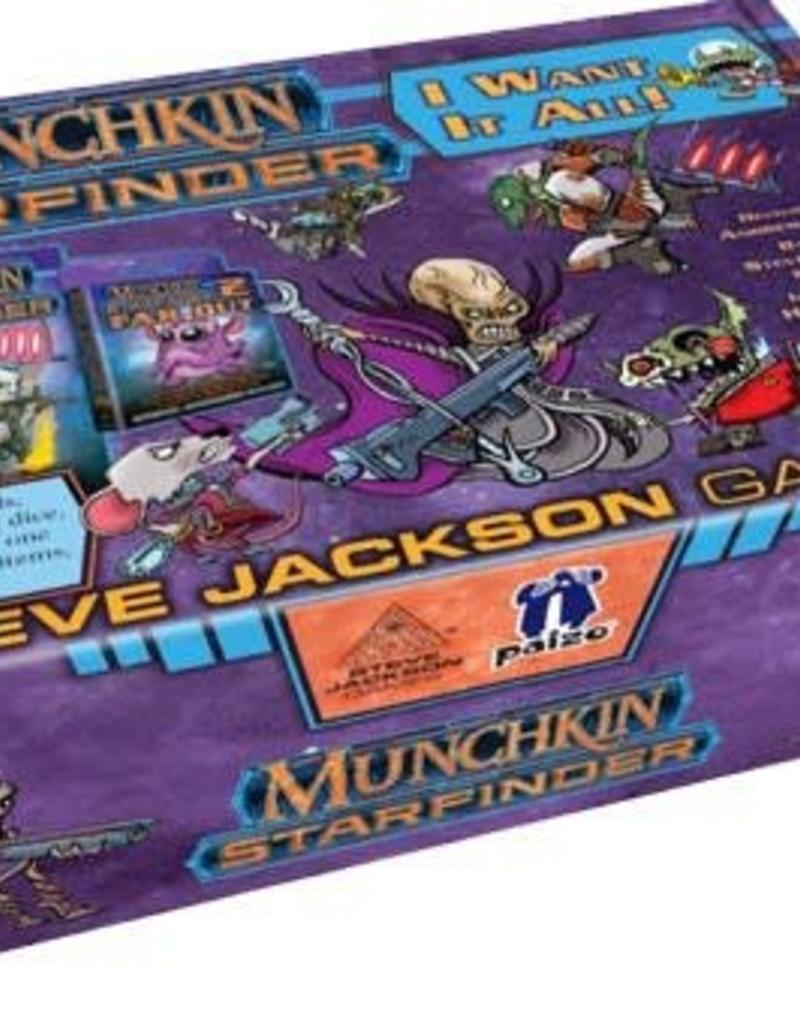 STEVE JACKSON GAMES MUNCHKIN STARFINDER: I WANT IT ALL