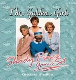 USAOPOLY THE GOLDEN GIRLS SHADY PINES GAME SET