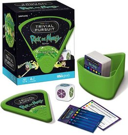 HASBRO TRIVIAL PURSUIT RICK AND MORTY
