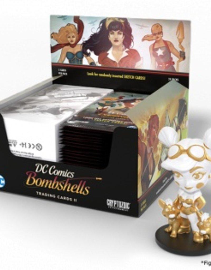 CRYPTOZOIC DC COMICS BOMBSHELLS TRADING CARDS SERIES 2 PACK