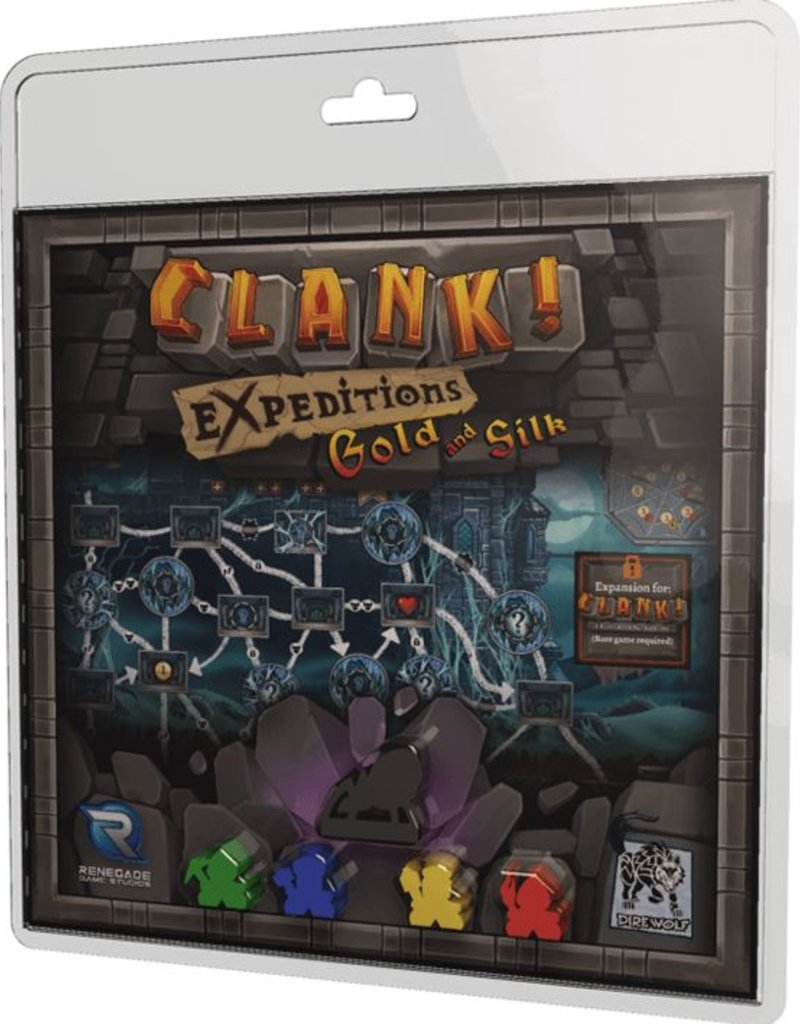 RENEGADE GAME STUDIOS CLANK EXPEDITIONS GOLD AND SILK EXP