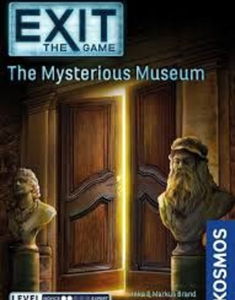 THAMES AND KOSMOS EXIT THE GAME THE MYSTERIOUS MUSEUM