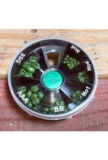 Angler Sports Group Shot Dispenser, 6 shot - Green