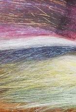 Hareline Dubbin Minnow Back Shimmer Fringe -