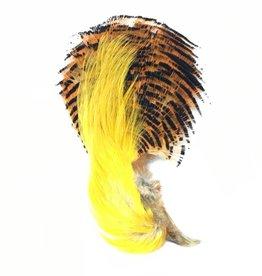 Fish Hunter Golden Pheasant Head w/Crest & Tippet