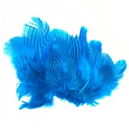Hareline Dubbin Silver Pheasant Body Feathers, Strung -