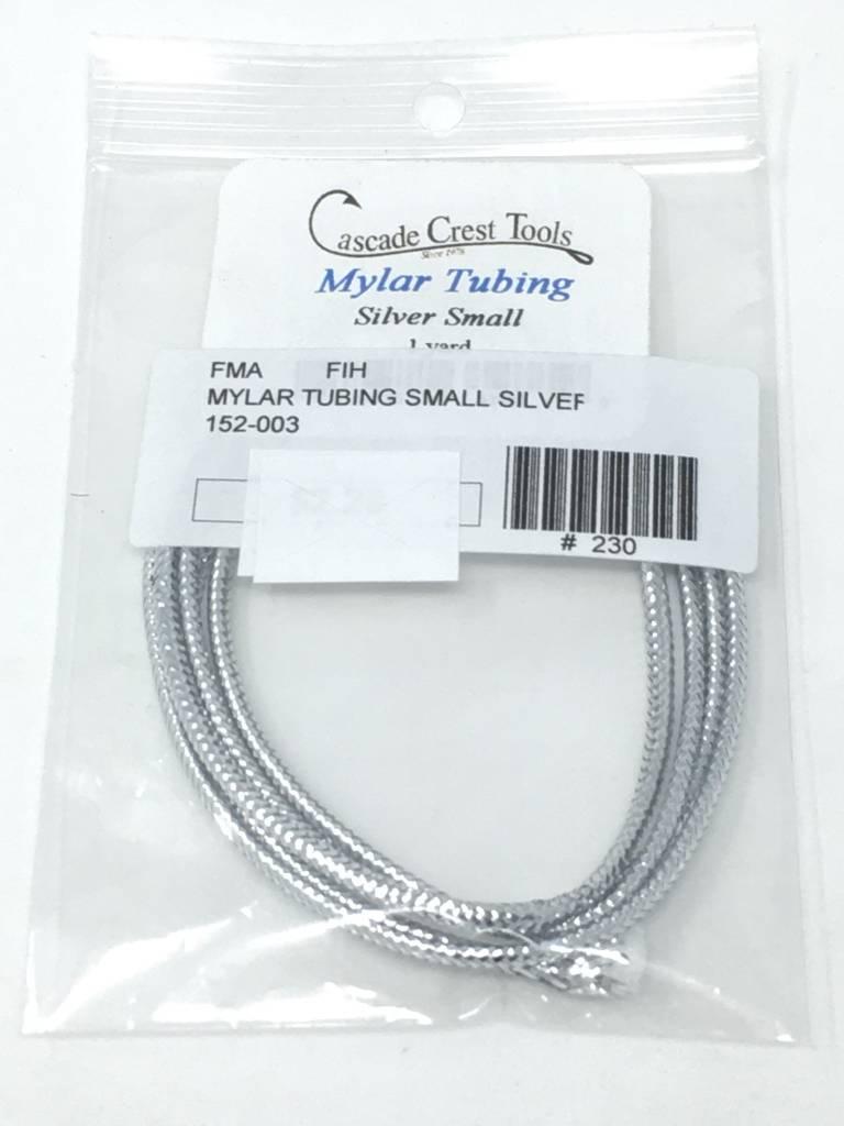 Fish Hunter Mylar Tubing, Small - Silver