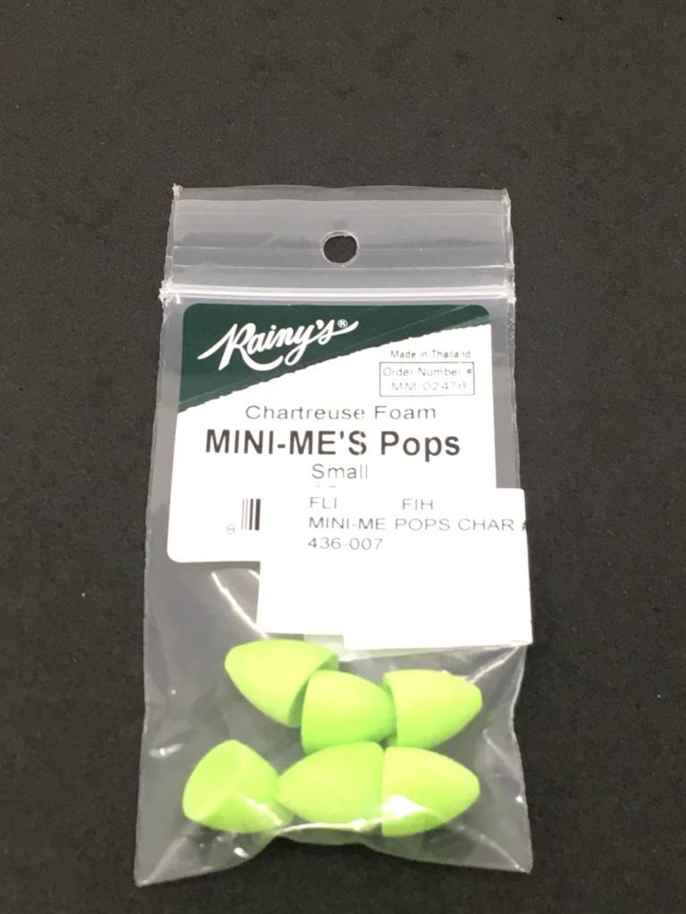 Fish Hunter Mini-Me's Pops Chartreuse #1 Hook