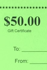 Patrick's Gift Certificate - $50.00