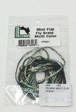 Hareline Dubbin Flat Braid Mini (M - Z) -