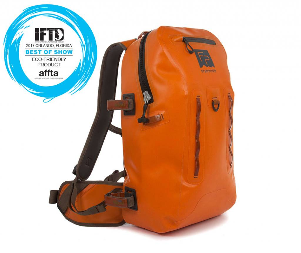 fishpond Thunderhead Submersible Backpack- Cutthroat Orange