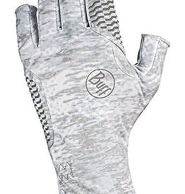 BUFF Aqua Glove - Pelagic Camo, White