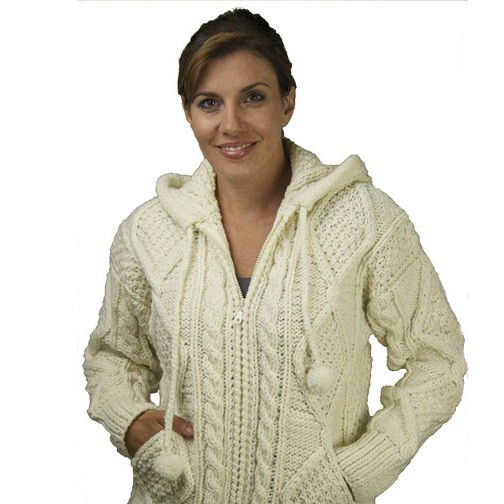 The Sweater Venture Cable Hoodie ZipUp