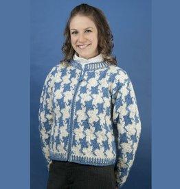The Sweater Venture Bonita Cropped Wool ZipUp