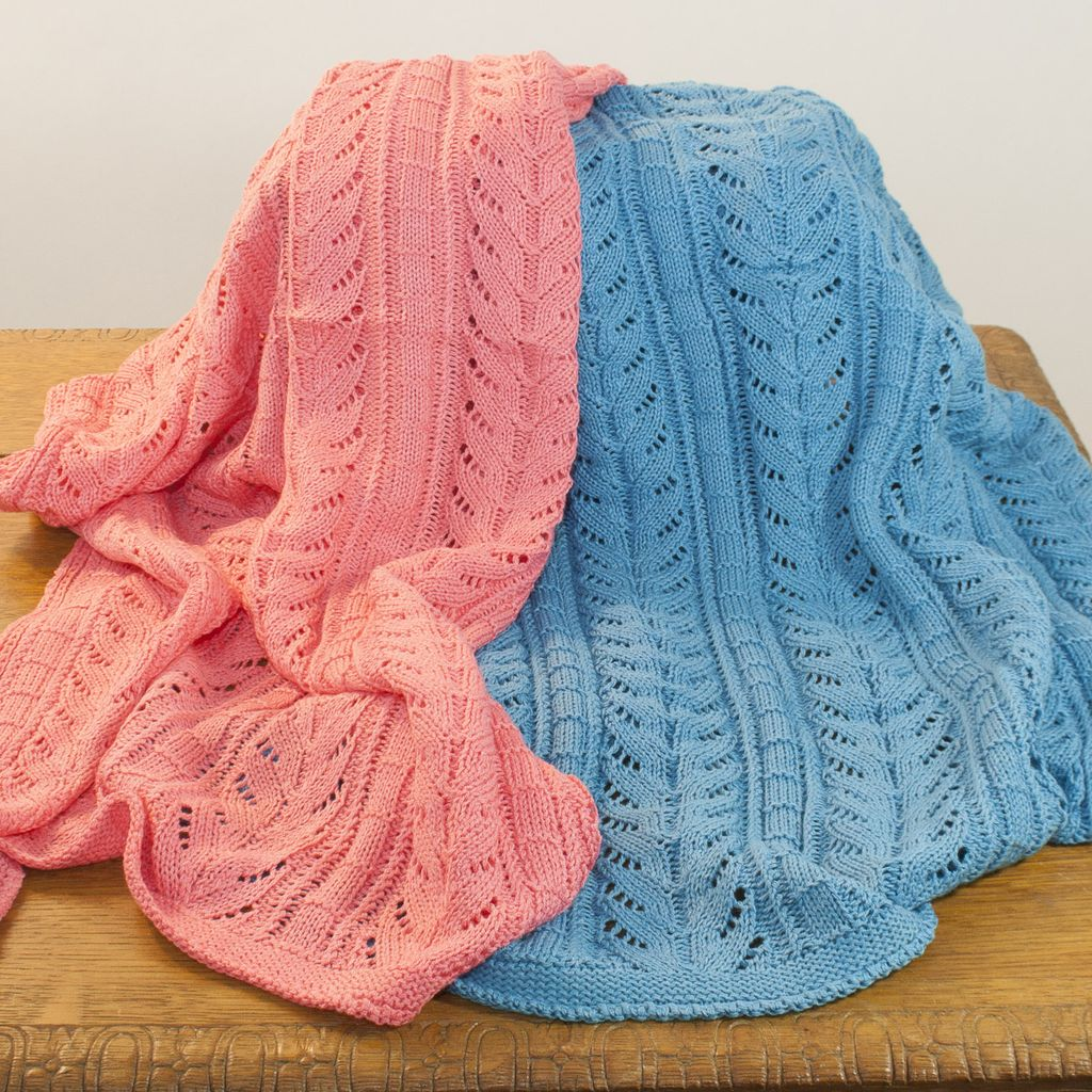 The Sweater Venture Cotton Baby Blanket