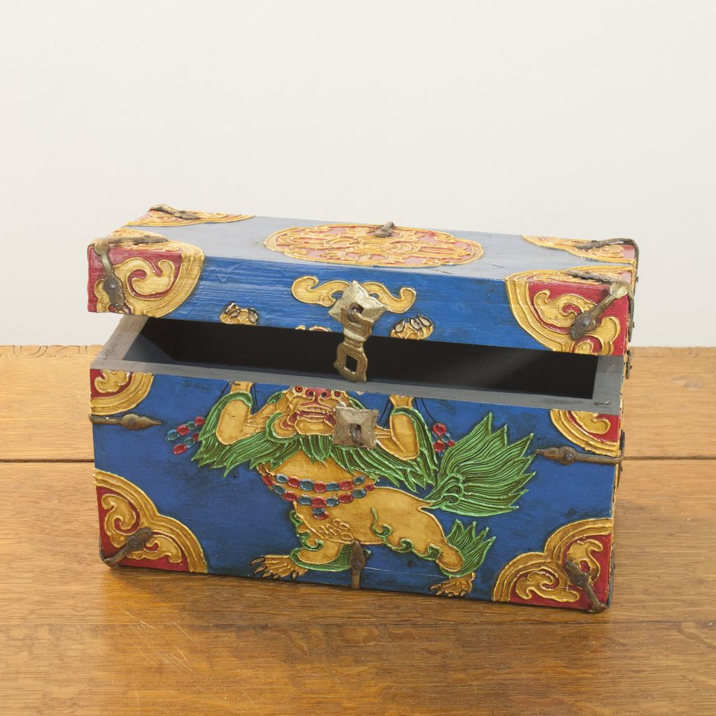 One of a Kind-Hand Painted Chest