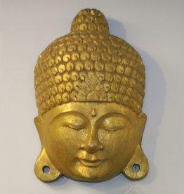 Buddha Gold Mask
