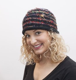 The Sweater Venture Roll Brim Cap in Wool & Silk