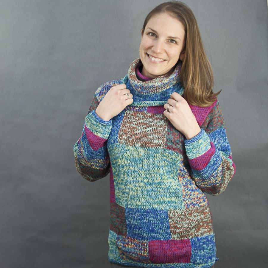 The Sweater Venture Carvival Cotton Cowl Neck