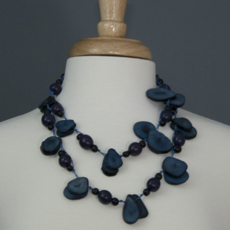 Su Placer Festive Tagua Necklace