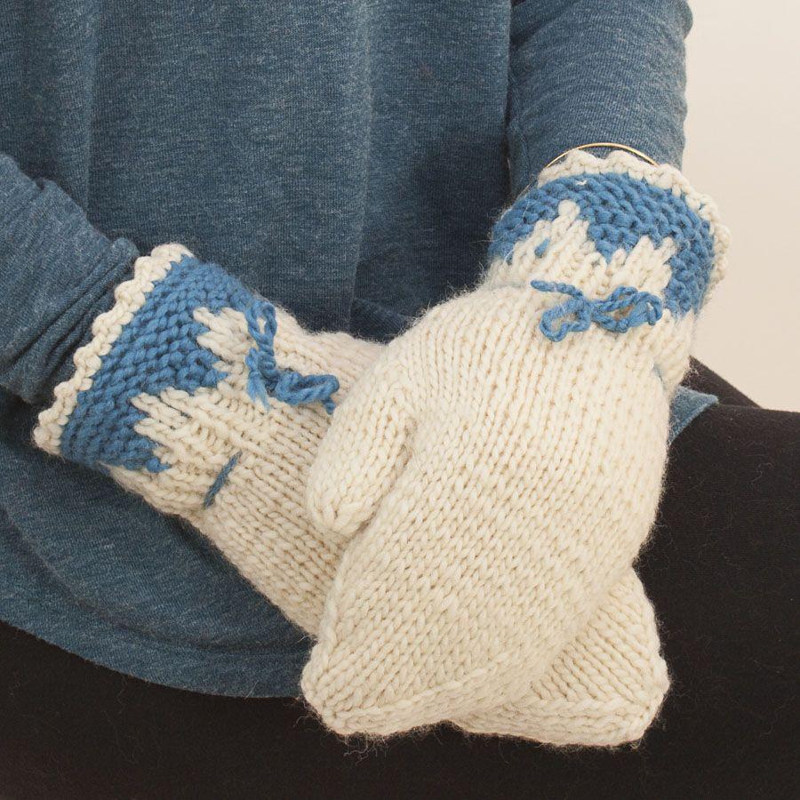 The Sweater Venture Kismit Mittens