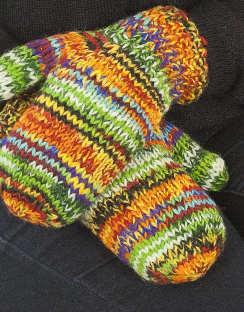 The Sweater Venture Snowfox Fleece Lined Mittens