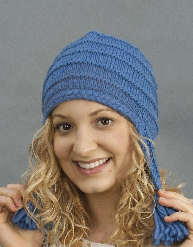The Sweater Venture Tasseled Flap Cap