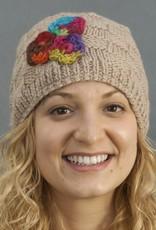 The Sweater Venture Cap w/Flower