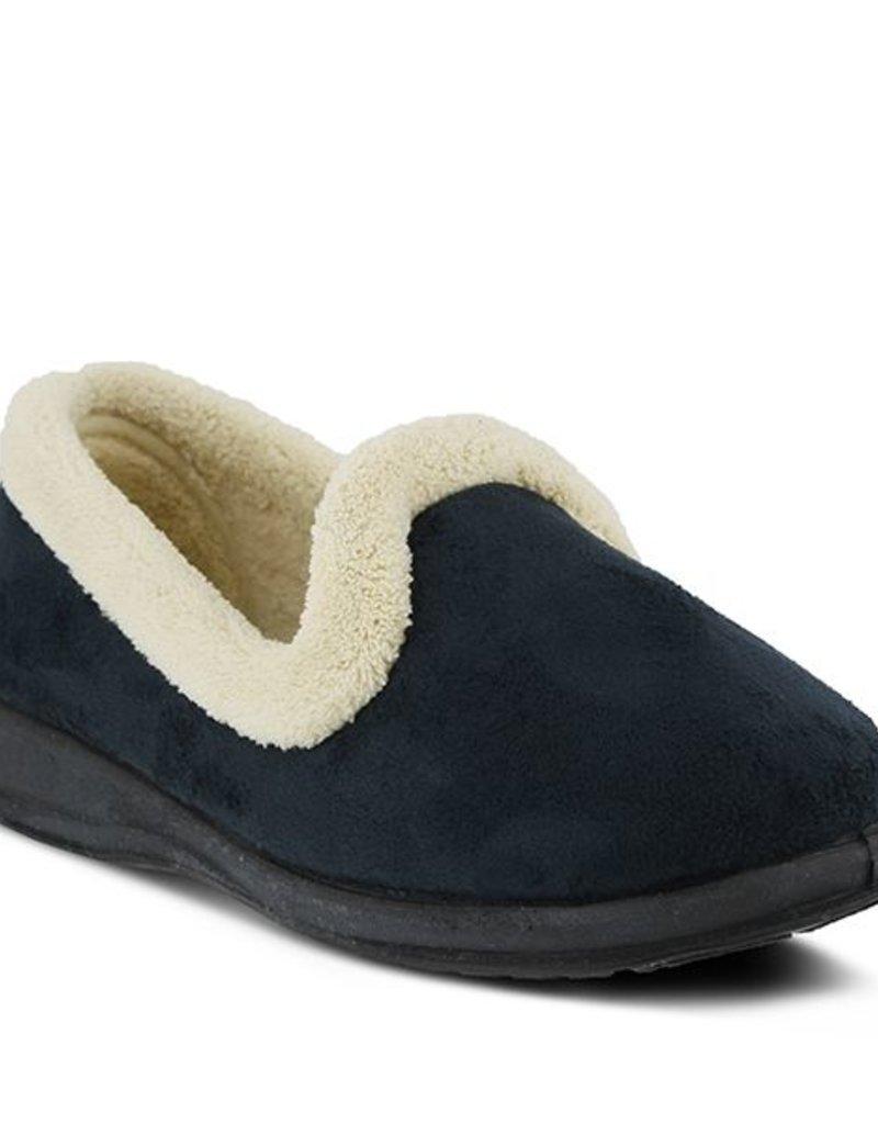 Spring Footwear Micro Suede Slipper