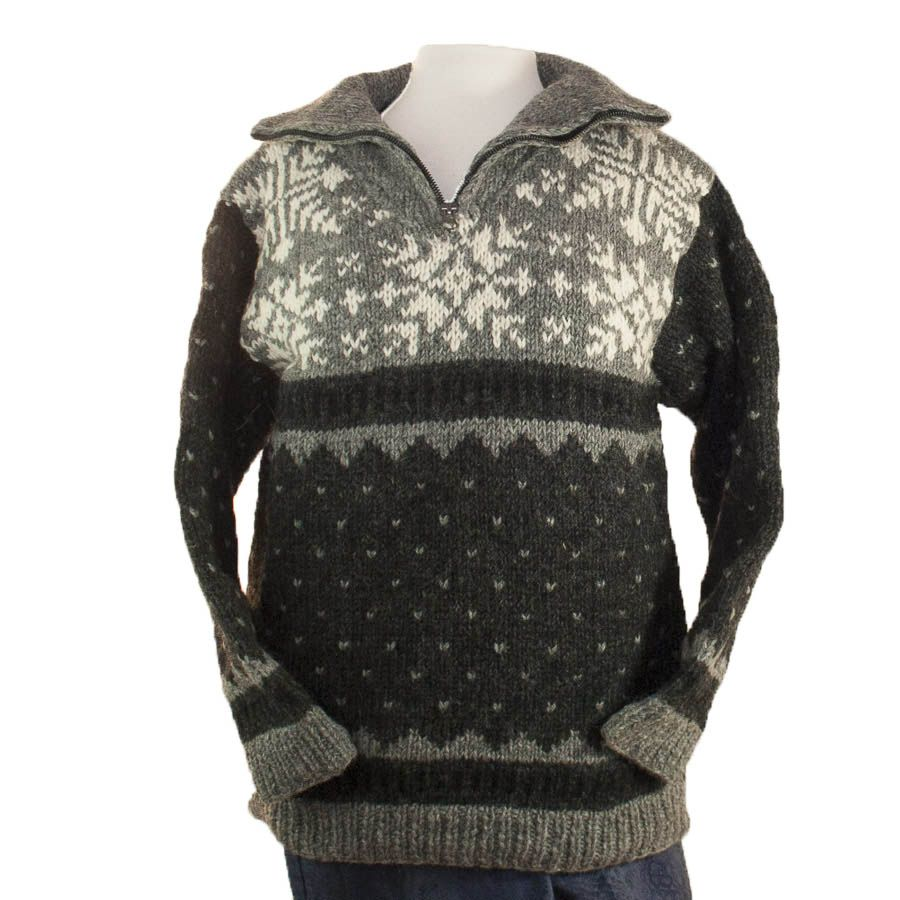 The Sweater Venture 1/4 Zip Fleece Lined Pullover - Sweater Venture