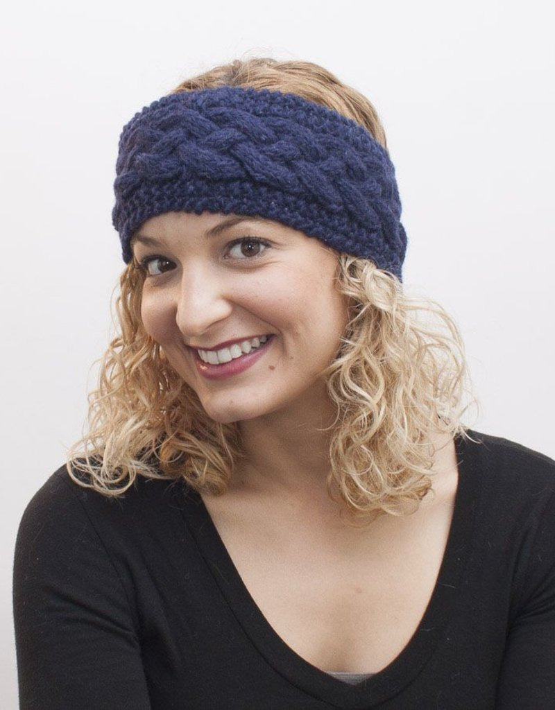The Sweater Venture Snowfox FL Cable Headband