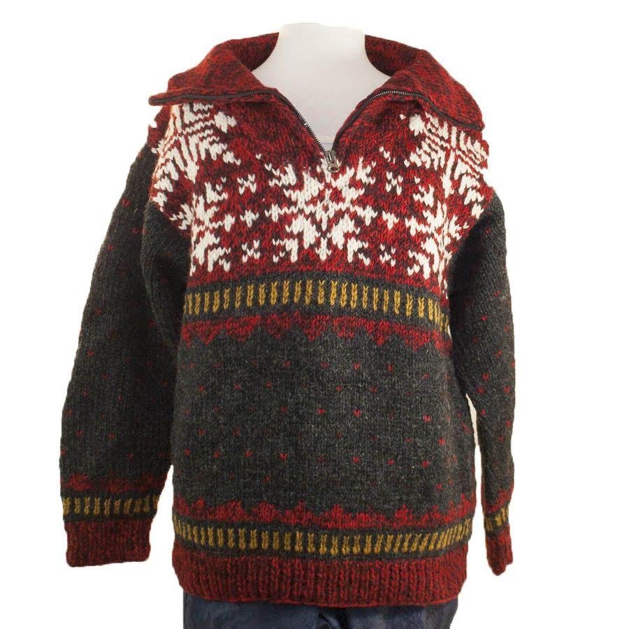 The Sweater Venture 1/4 Zip Fleece Lined Pullover