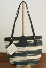 The Sweater Venture Shigra Handbag with Leather Trim and Straps