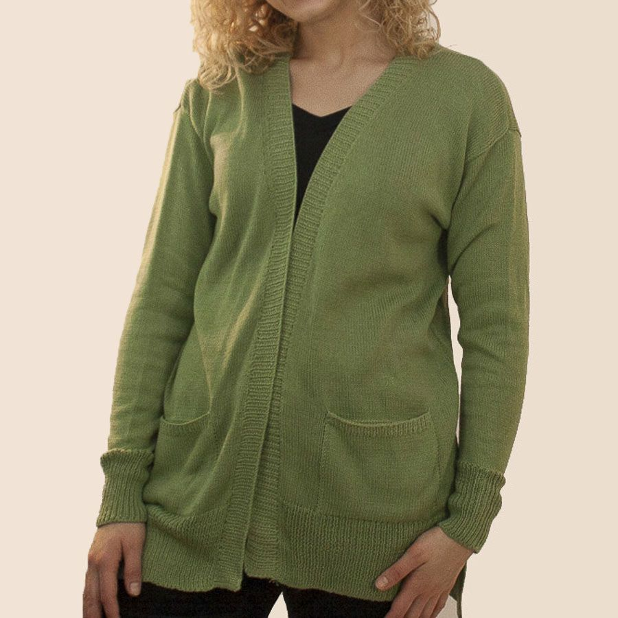 The Sweater Venture Long Open Cotton Tita