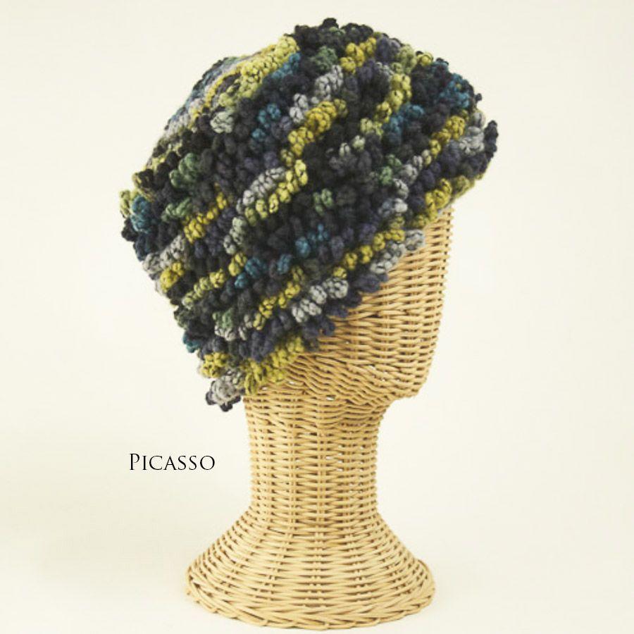 The Sweater Venture Poppy Cap in Boucle Wool