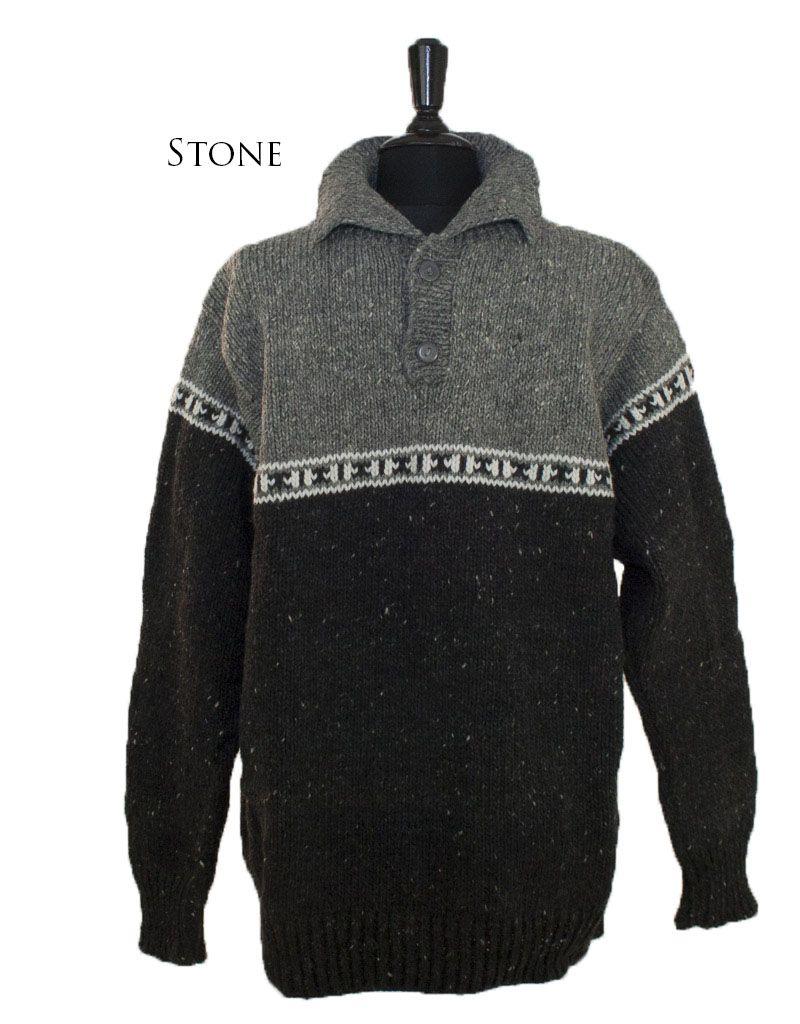 The Sweater Venture Canari Collared Pullover