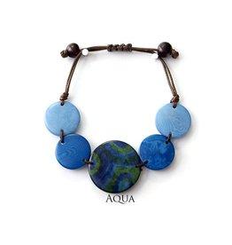 Encanto Glissando Bracelet Aqua Mar