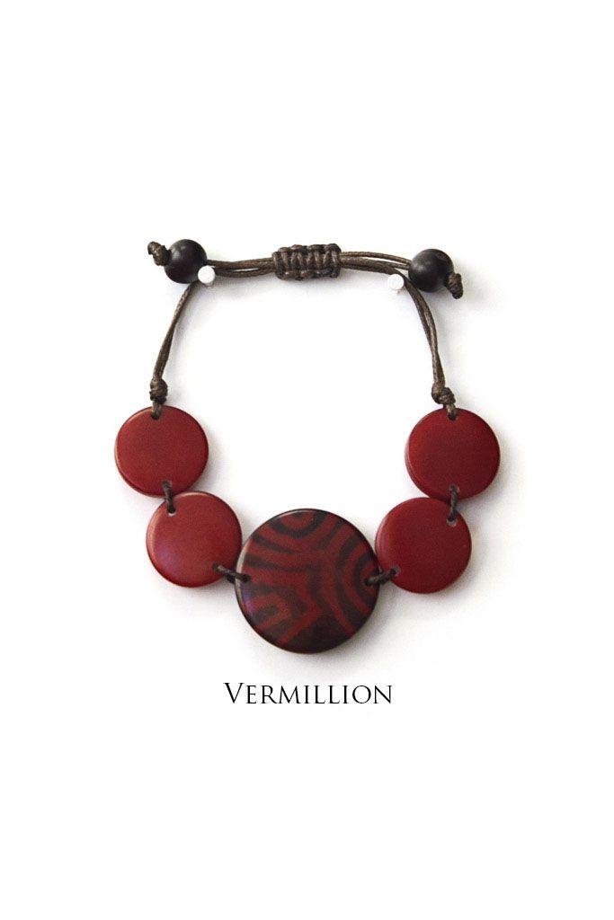 Encanto Glissando Bracelet Vermilion