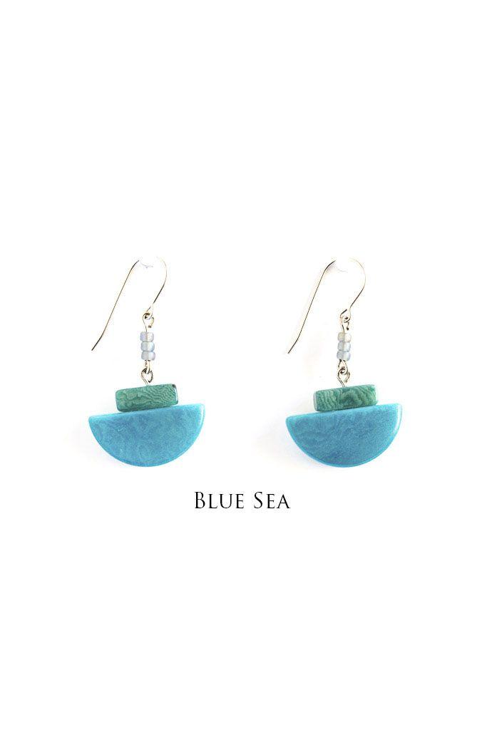 Encanto Miro Earring Blue Sea