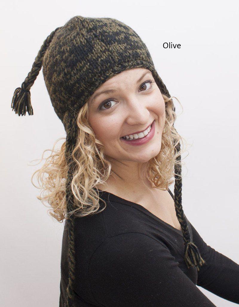 The Sweater Venture Snowfox Fleece Lined Flap Cap