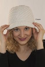 The Sweater Venture Jessica's Fleece Lined Cap in Kennebunk Wool