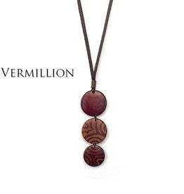 Encanto Glissando Necklace Vermilion