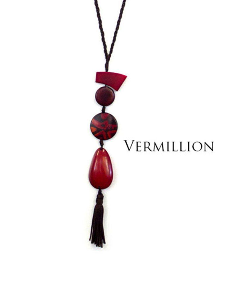 Encanto Sonatina Necklace Vermilion