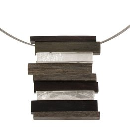 ORIGIN Wood/Shell Necklace